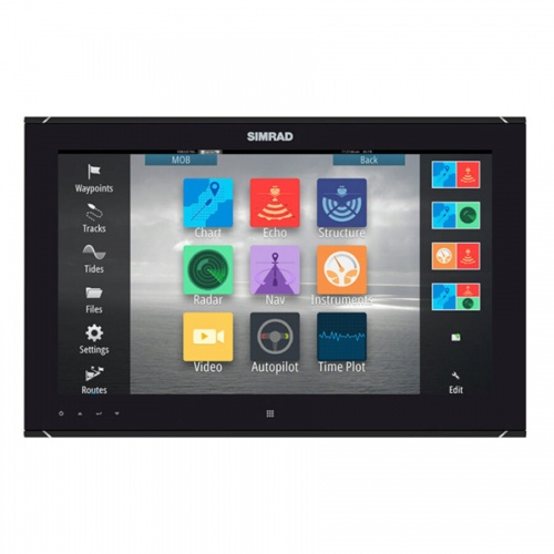 Simrad MO19-T 19 Inch Widescreen High bright, multi-touch monitor. High Definition
