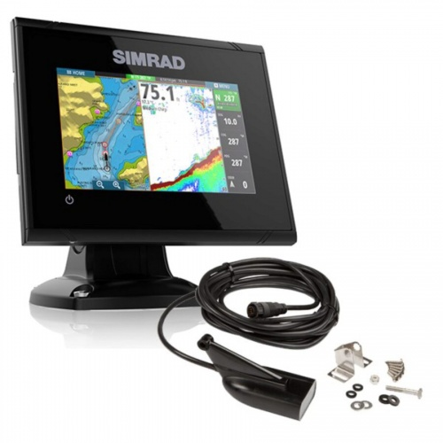 Simrad GO5 5 Inch Plotter/ Sounder With Med / Hi / Down Scan Transducer