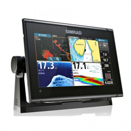 Simrad GO9 XSE 9 Inch Multi-touch Chart Plotter with built in Echosounder - No Transducer