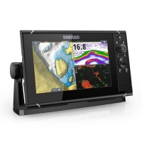Simrad NSS9 evo3 9 Inch Display With World Basemap