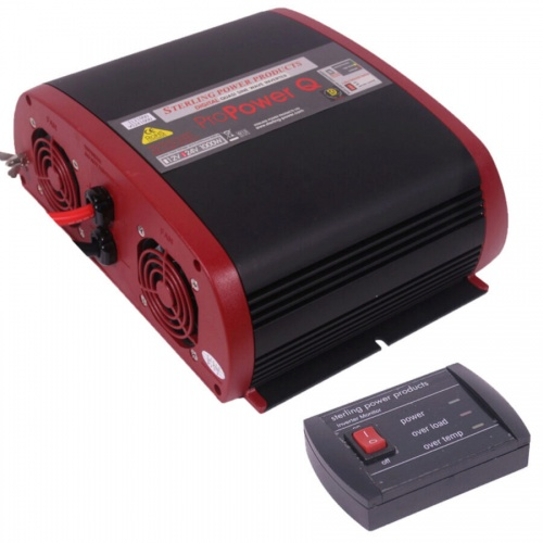 Sterling Pro Power Quasi Inverter 12v 1000W With Remote