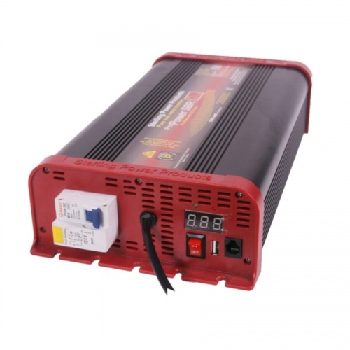 Sterling Pro Power SB Pure Sine Wave Inverter 12v 1600W With RCD