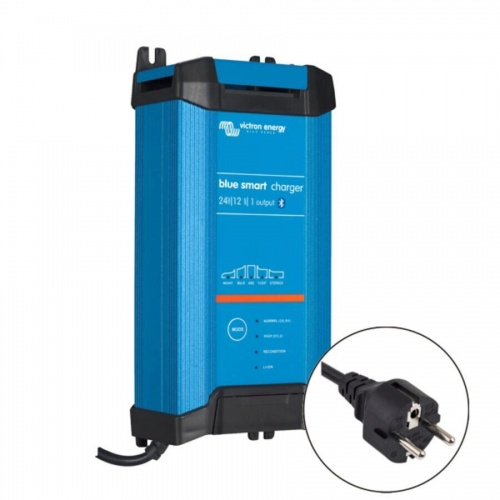 Victron Blue Smart IP22 Charger 24v/12a (1 output) Euro Plug