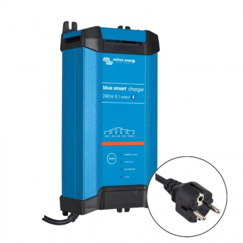 Victron Blue Smart IP22 Charger 24v/16a (1 output) Euro Plug