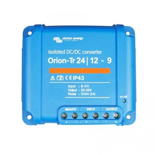 Victron Orion-Tr 24/12-9A (110W) Isolated DC-DC converter
