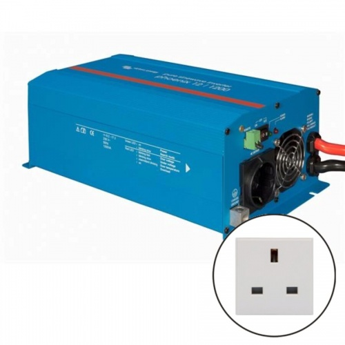 Victron Phoenix Sine Wave Inverter 12v 1200VA - UK Socket