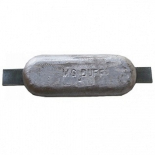 Magnesium Hull Anode Weld On - 2.6 Kgs Nom Net Weight