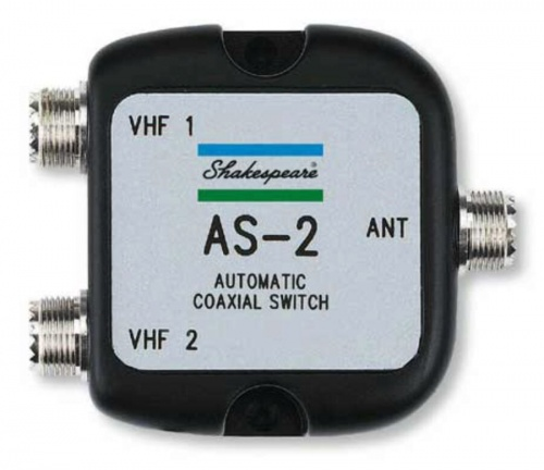 Shakespeare Auto Coax Switch (two Radios 1 Ant)