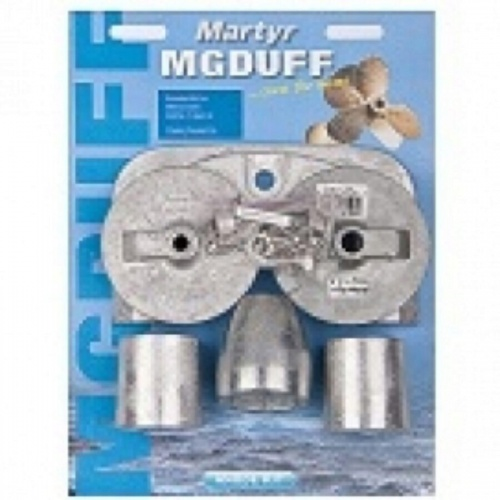 MG Duff Aluminium Anode Kit for Mercury Bravo 3 2004+