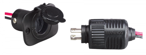 2-Wire ConnectPro Plug and Receptacle Combo