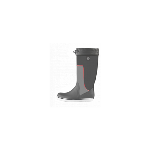 Maindeck tall grey rubber boot Size 8