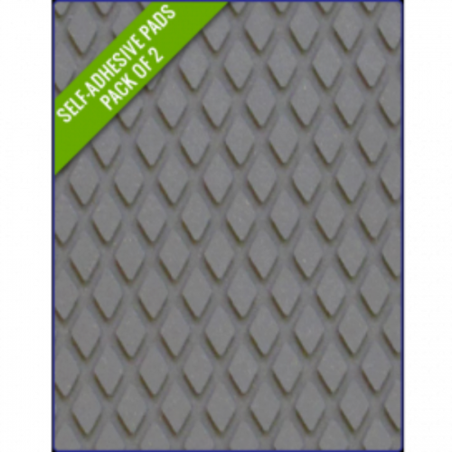 GREY - Original Step Pads DiamondPattern 412x203x3/2mm